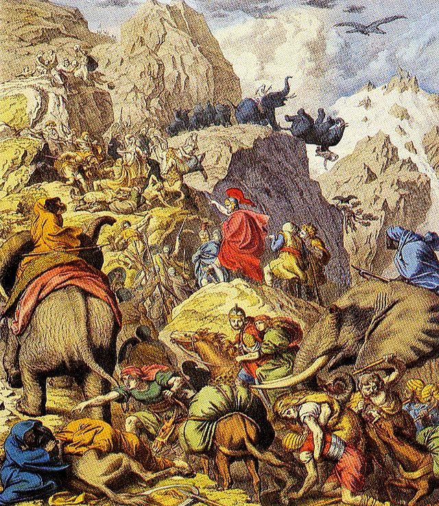 צבא חניבעל כובש את איטליה